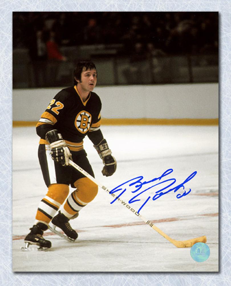 Brad Park Boston Bruins Autographed Game Action 8x10 Photo