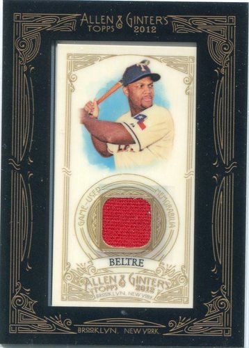 Photo of 2012 Topps Allen and Ginter Relics #Adrian Beltre