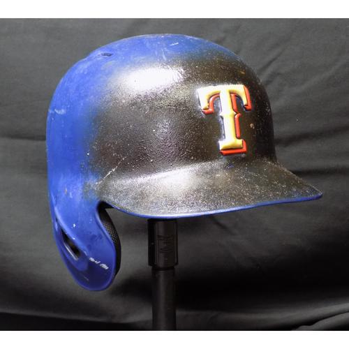 Drew Robinson 2017 Game-Used Helmet