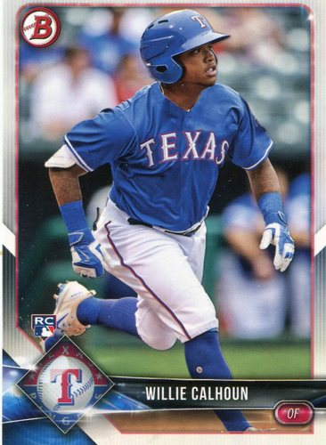 Photo of 2018 Bowman #31 Willie Calhoun -- Rookie Card