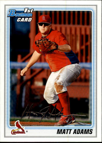 Photo of 2010 Bowman Prospects #BP14 Matt Adams Pre-Rookie Card