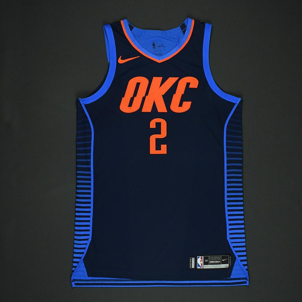 Raymond Felton - Oklahoma City Thunder - NBA Christmas Day '17 Game-Worn Jersey