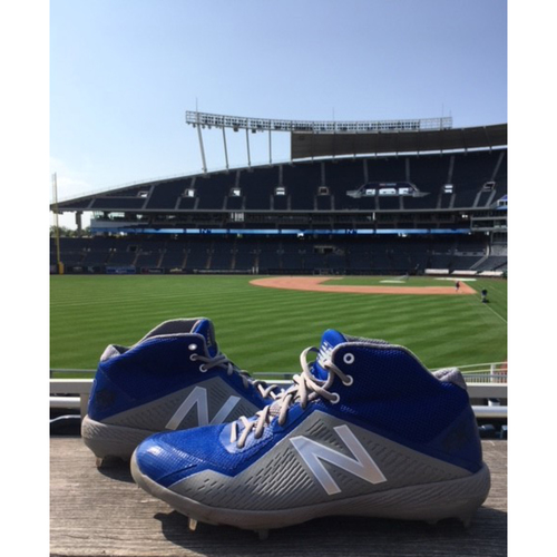 Photo of Autographed Game-Used Danny Duffy Cleats - 7/31/18