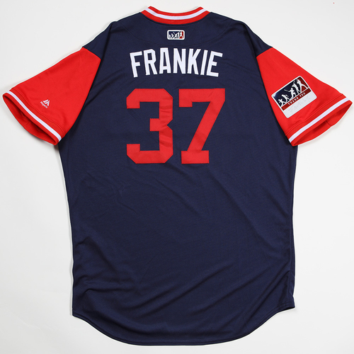 "Photo of Francisco ""Frankie"" Arcia Los Angeles Angels Game-Used 2018 Players' Weekend Jersey"
