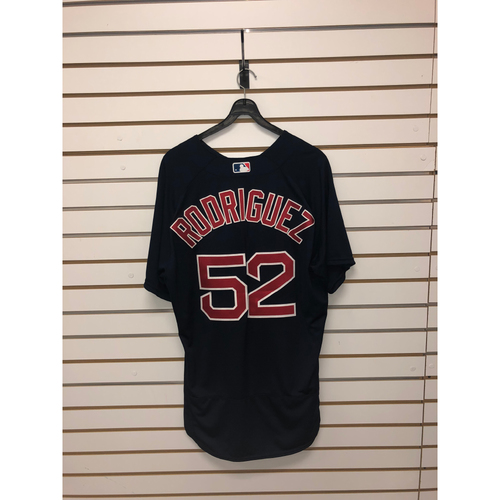 Photo of Eduardo Rodriguez Team-Issued 2016 Road Alternate Jersey
