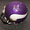 NFL - Vikings Harrison Smith signed Vikings proline helmet