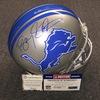 PCC - Lions Barry Sanders signed Lions proline helmet