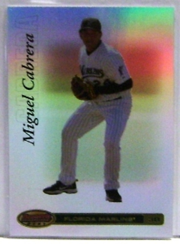 Photo of 2007 Bowman's Best #27a Miguel Cabrera