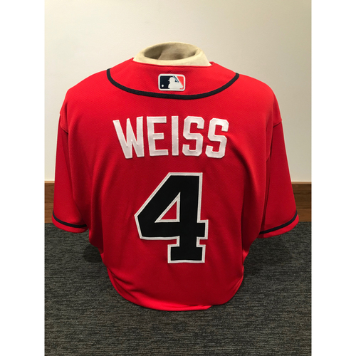 Walt Weiss 2019 Atlanta Braves Game-Used Los Bravos Day Jersey