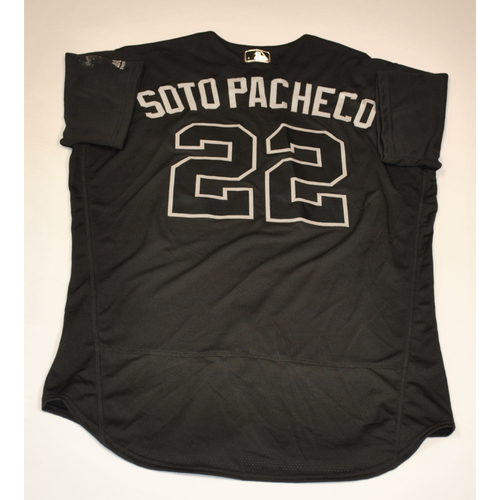 """Photo of Juan """"SOTO PACHECO"""" Soto Washington Nationals Game-Used 2019 Players' Weekend Jersey"""