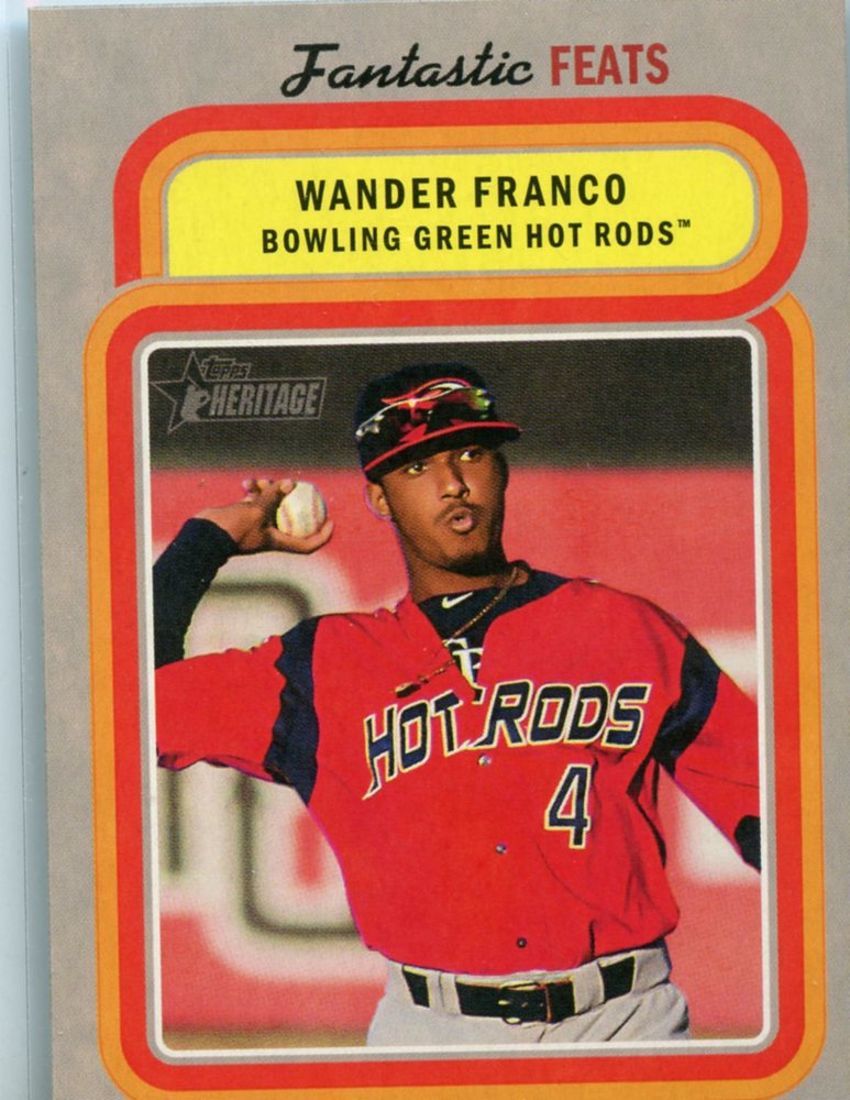 2019 Topps Heritage Minors Fantastic Feats #FF2 Wander Franco