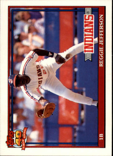 Photo of 1991 Topps Traded #60T Reggie Jefferson