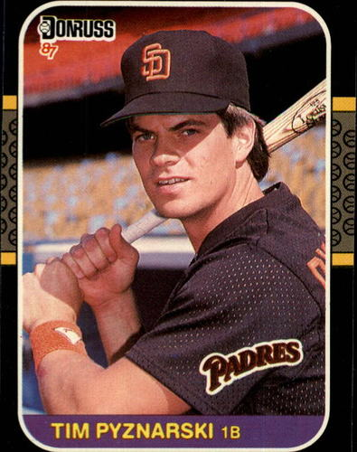 Photo of 1987 Donruss #654 Tim Pyznarski