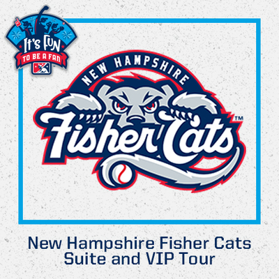 New Hampshire Fisher Cats Suite and VIP Tour