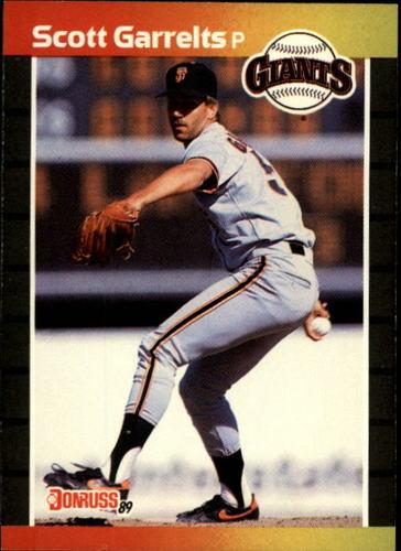 Photo of 1989 Donruss #295 Scott Garrelts