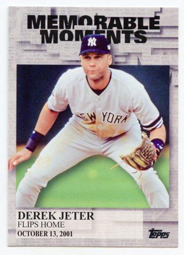 Photo of 2017 Topps Memorable Moments #MM31 Derek Jeter
