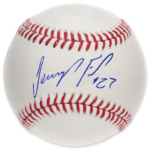 Photo of Jeurys Familia - Autographed Major League Baseball