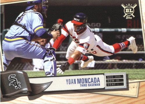 Photo of 2019 Topps Big League #128 Yoan Moncada