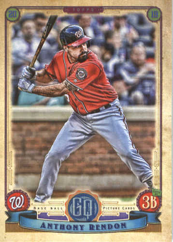 Photo of 2019 Topps Gypsy Queen #234 Anthony Rendon