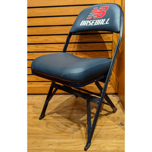 Photo of Fenway Park Game Used Yu Darvish Visitor's Clubhouse Locker Room Chair