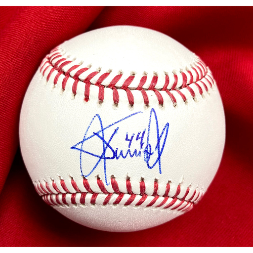 Photo of Junior Fernandez Autographed Baseball
