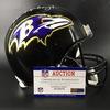 NFL - Ravens Head Coach John Harbaugh Signed Proline Helmet
