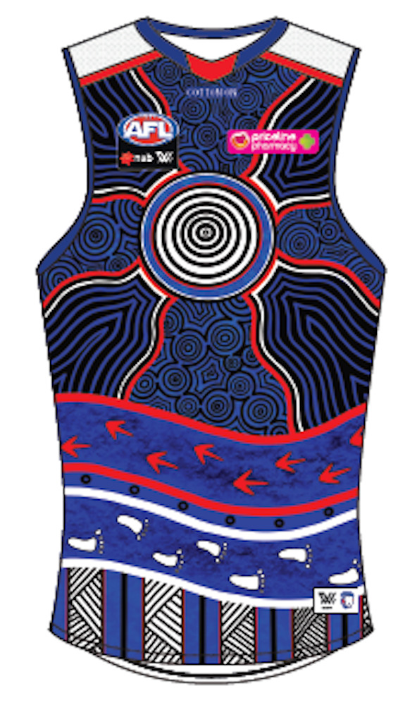 2021 Indigenous Guernsey - Match Worn* by Angelica Gogos