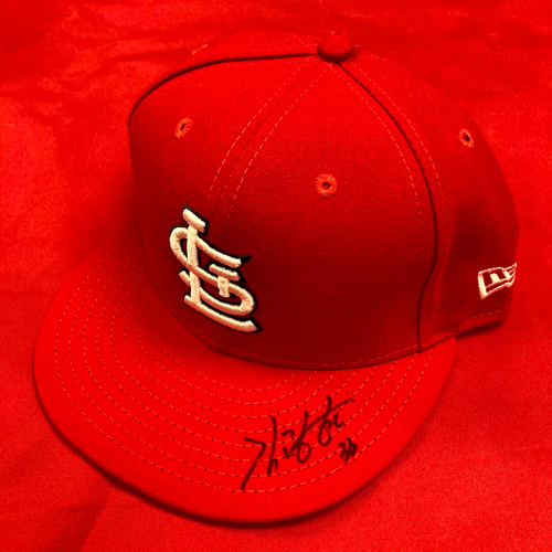 Kwang-Hyun Kim Autographed Team Issued Home Cap (Size 7 1/8)