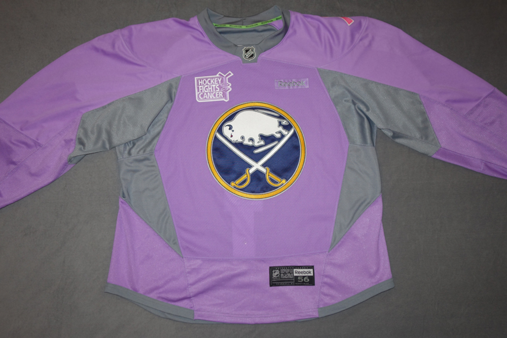 low priced 4a06a a3023 Carlo Colaiacovo Buffalo Sabres Pre-Game Worn Hockey Fights ...