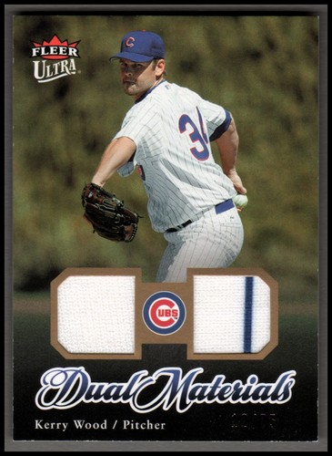 Photo of 2007 Ultra Dual Materials Gold #KW Kerry Wood