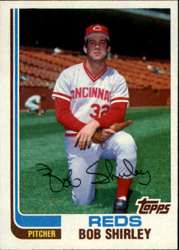 Photo of 1982 Topps Traded #105T Bob Shirley