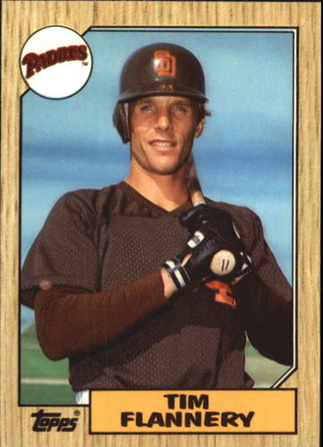 Photo of 1987 Topps Tiffany #763 Tim Flannery