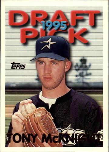 Photo of 1995 Topps Traded #38T Tony McKnight RC