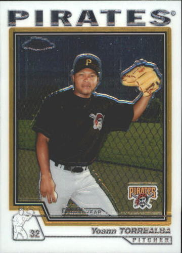Photo of 2004 Topps Chrome Traded #T189 Yoann Torrealba FY RC