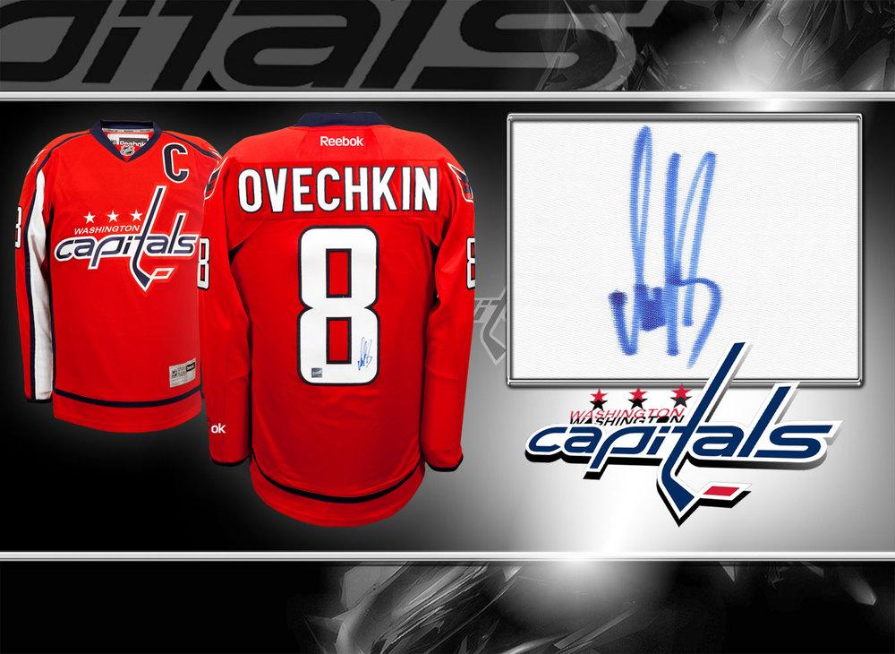 Alex Ovechkin Washington Capitals RBK Premier Autographed Jersey
