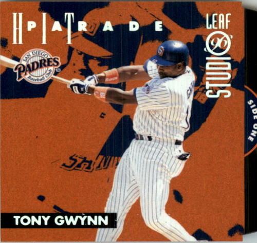 Photo of 1996 Studio Hit Parade #1 Tony Gwynn