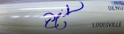 Nick Swisher Autographed Louisville Slugger Bat
