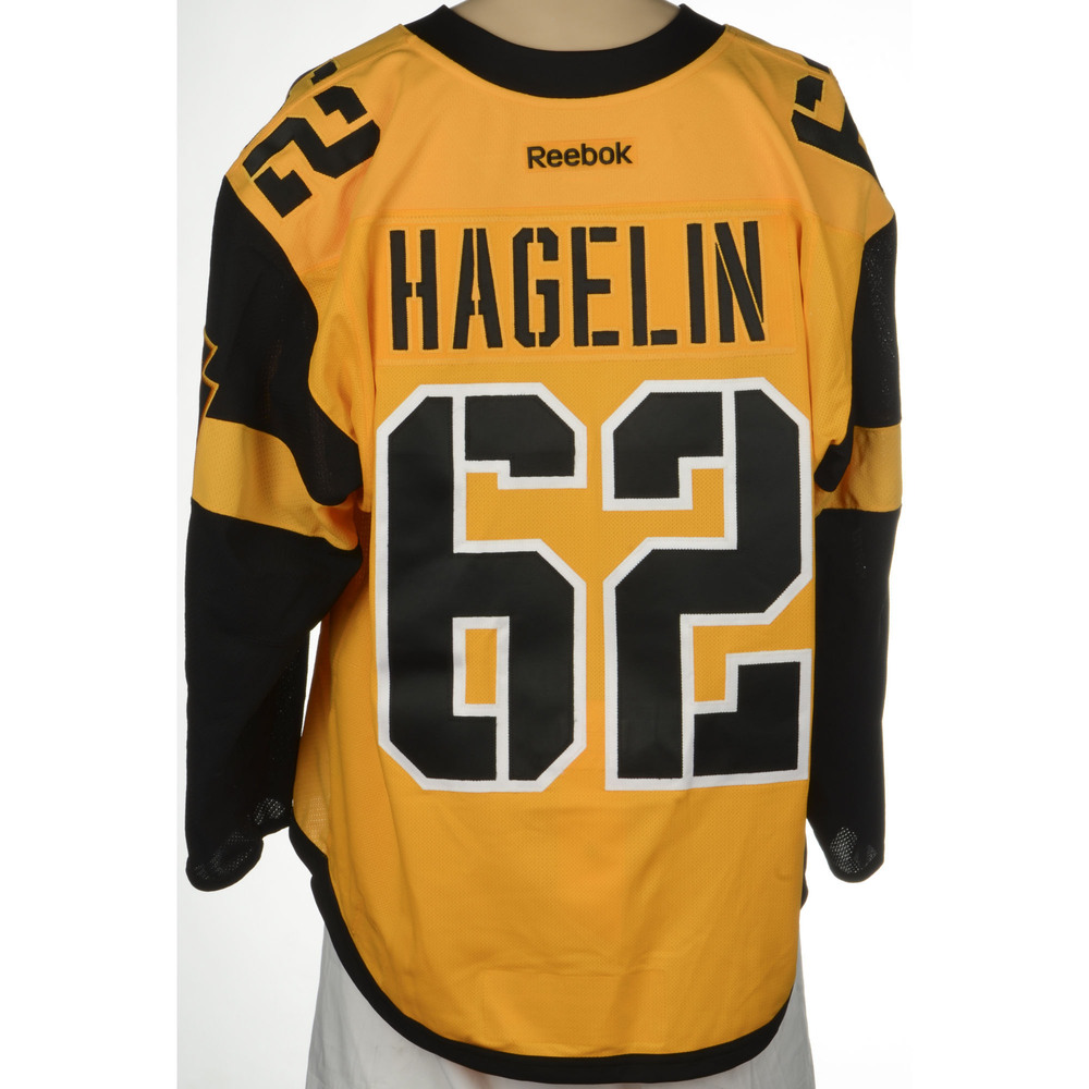 hot sale online d3357 27d9b Carl Hagelin Pittsburgh Penguins 2017 Stadium Series Game ...