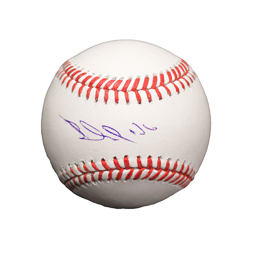 Paulo Orlando Autographed Baseball