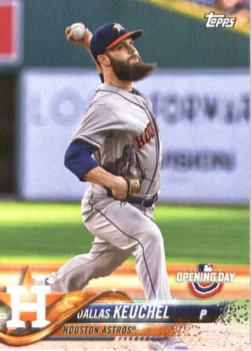 Photo of 2018 Topps Opening Day #51 Dallas Keuchel