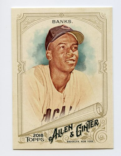 Photo of 2018 Topps Allen and Ginter #138 Ernie Banks