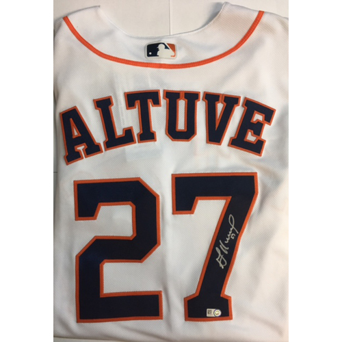 online store 9247b 9ae08 MLB Auctions | Jose Altuve Autographed Authentic Astros Jersey