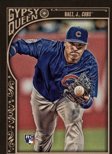 Photo of 2015 Topps Gypsy Queen #91A Javier Baez RC
