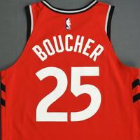 Chris Boucher - Toronto Raptors - 2018-19 Season - Canada Series - Game-Worn Red Icon Edition Jersey