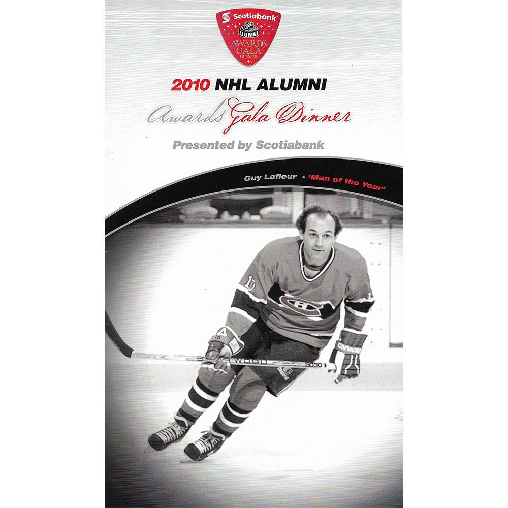 Ron Ellis & Mark Osborne Autographed 2010 NHL Alumni Gala Program