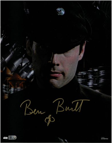 Ben Burtt As Colonel Dyer 11X14 AUTOGRAPHED IN 'Gold' INK PHOTO