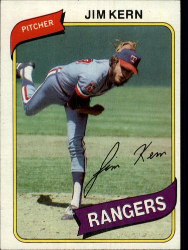 Photo of 1980 Topps #369 Jim Kern