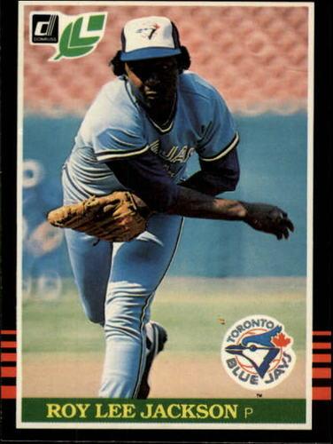 Photo of 1985 Leaf/Donruss #106 Roy Lee Jackson