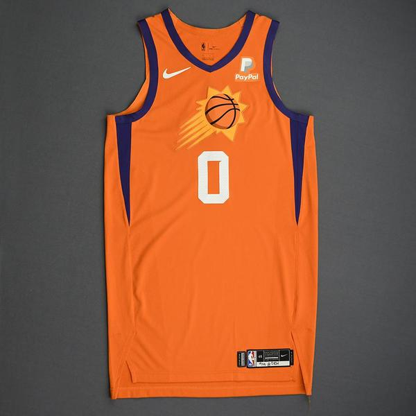 Image of Jalen Lecque - Phoenix Suns - Game-Issued Statement Edition Jersey - 2019-20 Season
