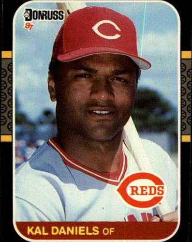 Photo of 1987 Donruss #142 Kal Daniels
